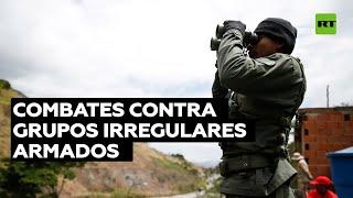 Venezuela informa de bajas en combates en su frontera con Colombia