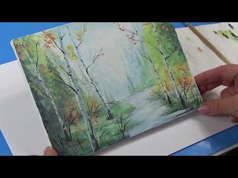Как нарисовать пейзаж    Миниатюра