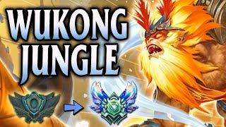 Diamond Ranked Radiant Wukong Jungle | Unranked to Diamond Flex #1 - League of Legends S8