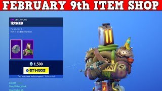 Fortnite Item Shop (FEBRUARY 9th) | *NEW* KITBASH & SPARKPLUG SKINS! | Code KobesMind