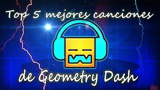 Top 5 mejores canciones de Geometry Dash!! l Rulek380