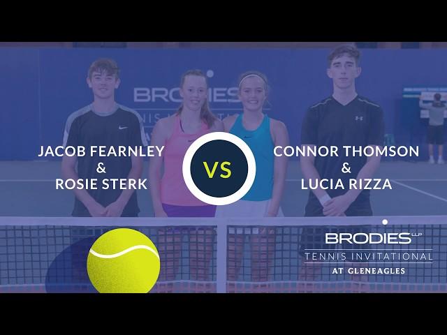 Scottish tennis Juniors at the Brodies Tennis Invitational