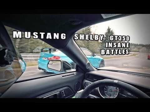 MUSTANG SHELBY GT350 INSANE NORDSCHLEIFE BATTLE