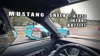 MUSTANG SHELBY GT350 INSANE NORDSCHLEIFE BATTLE