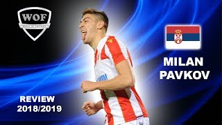 MILAN PAVKOV | Incredible Goals & Skills | Red Star | 2018/2019 (HD)