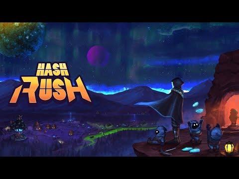 Hash Rush - блокчейн игра, в которой можно добыть криптовалюту.