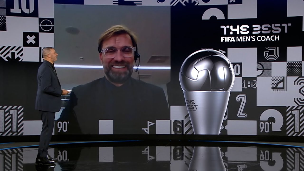 Jürgen Klopp named Best FIFA Men's Coach 2020 | 'I am really proud of the  club' - YouTube