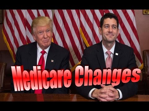 Paul Ryan, Donald Trump Medicare Change Proposal