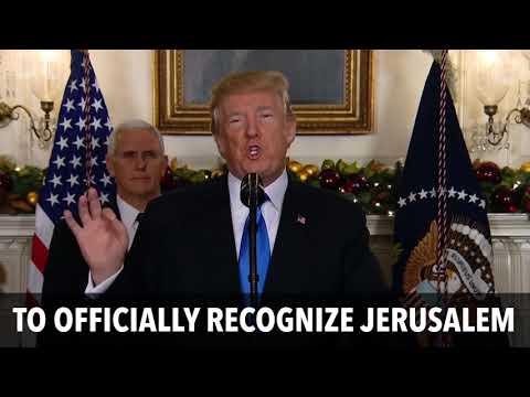 Trump Moves the U.S. Embassy to Jerusalem