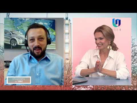 TeleU: Andrei Son - country innovation manager Continental la Studenții de ieri cu Silvia Gherasim