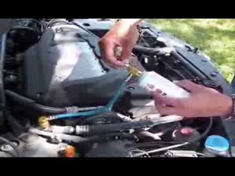 Acura TL AC System Recharge The Easy Way YouTube - 2006 acura tsx ac problems
