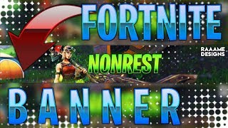 FREE Fortnite Banner with GIMP | + Download | raaame - Designs