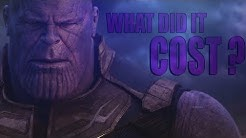 (Infinity War) Thanos | What Did It Cost ?