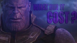 (Infinity War) Thanos   Wнat Did It Cost ?