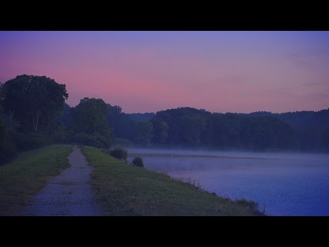 3 Hours of Relaxing Smooth Jazz Saxophone Instrumentals during sunrise on the Huron River