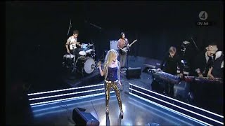 The Asteroids Galaxy Tour - Heart Attack (Live at TV4 Nyhetsmorgon, 20.03.2012)