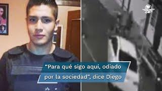 """Diego """"H"""" es señalado por atropellar a Fernanda Cuadra y Polly Olivares en Iztacalco; habría enviado un audio a un amigo donde menciona que no se ve encarcelado"""