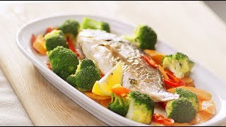 Рыба в духовке рецепты | Как приготовить рыбу | Дорадо рецепт с овощами