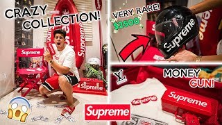 UK's Biggest HYPEBEAST Insane Supreme Collection *Must See*