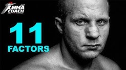 What does it take to be an MMA fighter - 11 factors