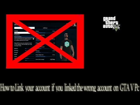 How to Fix your GTA V on pc if you signed into the wrong Social club account