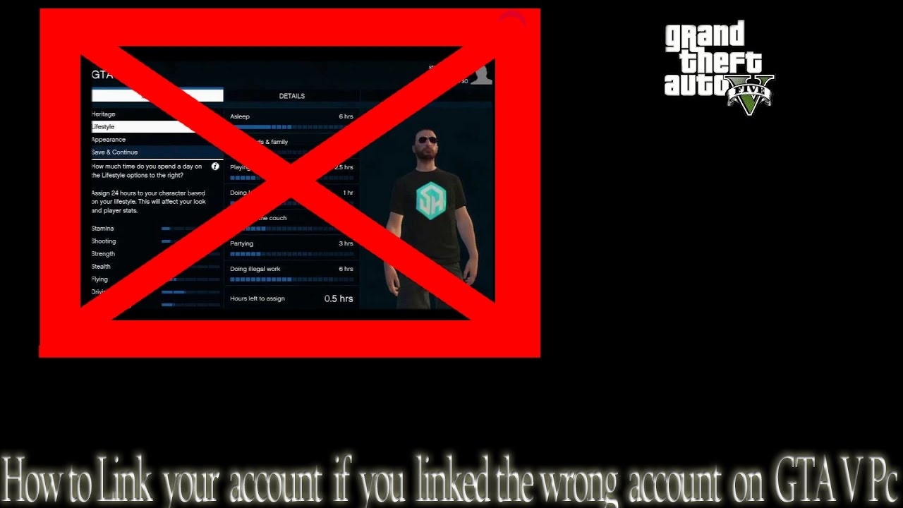 how to change social club account gta v pc