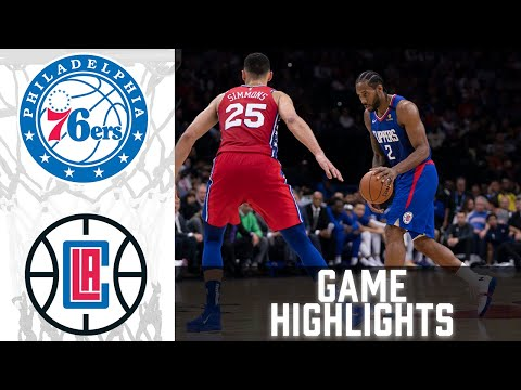 76ers vs Clippers HIGHLIGHTS Full Game | NBA March 27