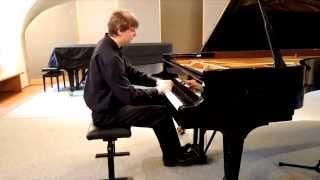Johann Sebastian Bach: Toccata e minor, BWV 914 (Jan Dušek - piano)