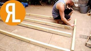 Building A Deck, Part 1, Frame