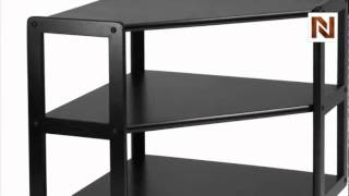 Winsome Derby Corner TV Stand with shelf, on casters 20423