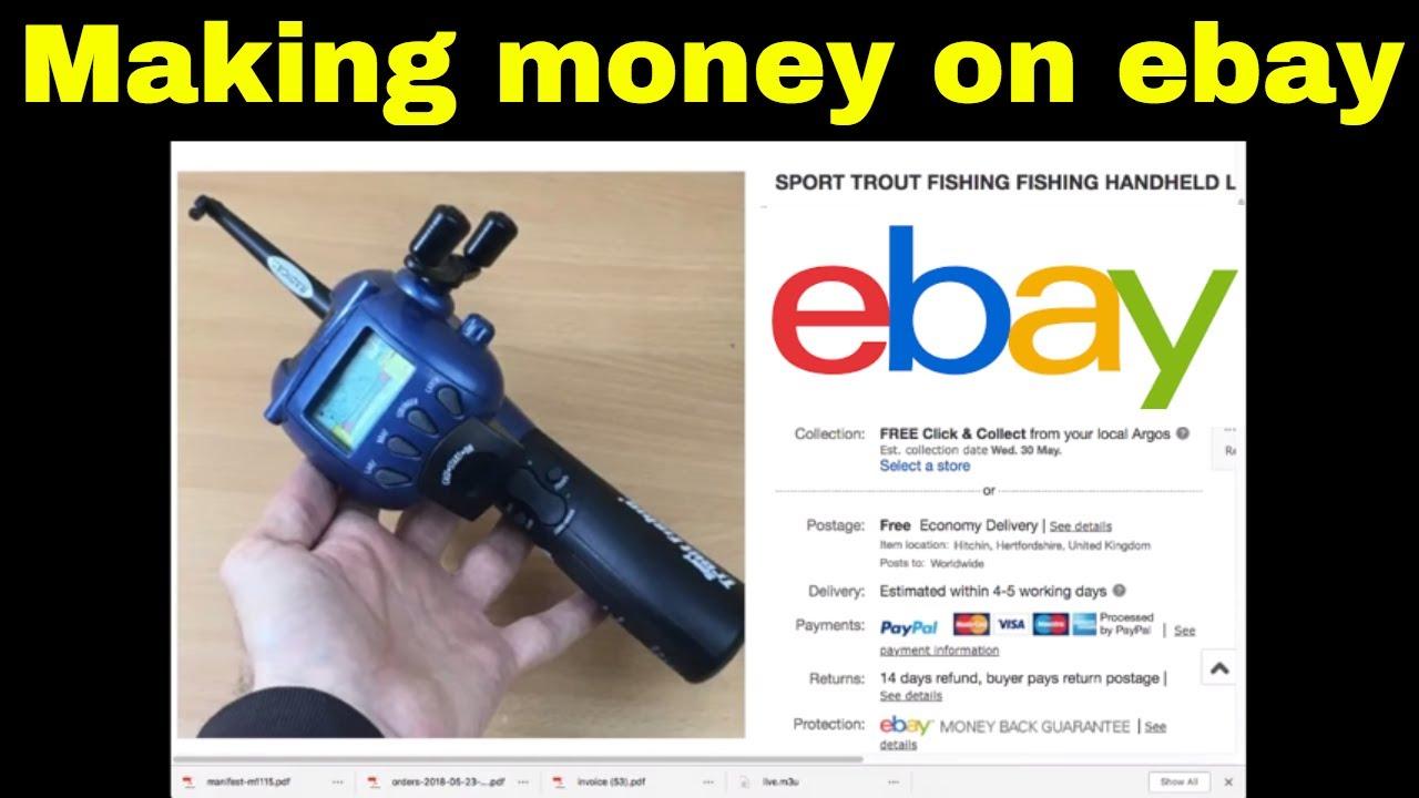 How To Make Money On Ebay 13 Items Sold Full Time Uk Reseller Youtube