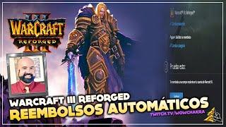 Warcraft III: Reforged Blizzard ofrece reembolsos automáticos
