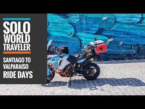 Ride Day 63: Santiago, Chile to Valparaíso, Chile