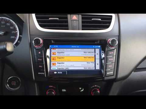 AX-C179 Equipo multimedia S100 para Suzuki Swift (a partir 2011)