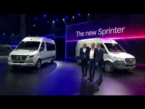 bd93dcdfcb The new Sprinter  World Premiere in Duisburg