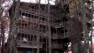 worlds largest tree house crossville tn as seen on abc wkrn tv nashville tn by randy rauch