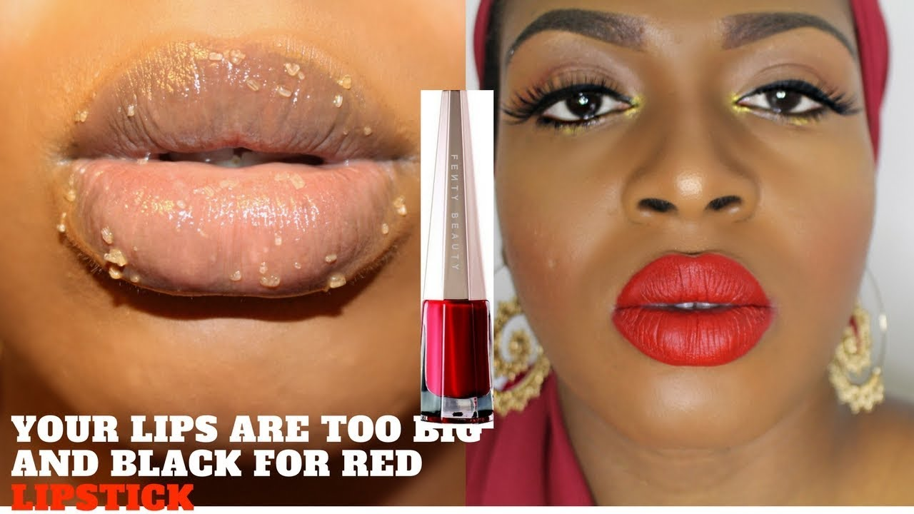 2019 year look- How to lipstick wear for thick lips