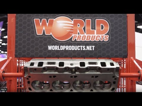 PRI 2018: World Products Updated Cast Iron Cylinder Heads