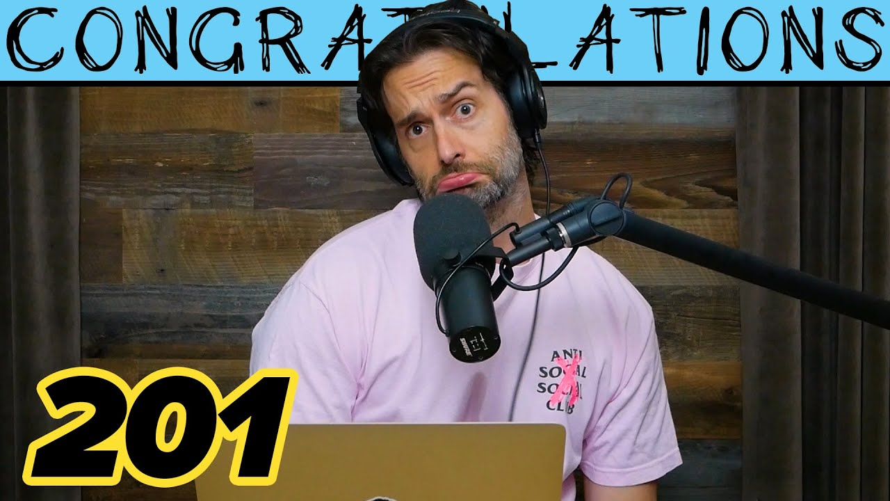 Horizontal In His **** (201) | Congratulations Podcast with Chris D'Elia