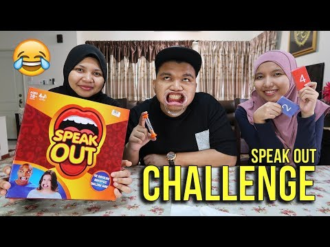 SPEAK OUT! Challenge w/ Sister Ika & Ida! (Malaysia)