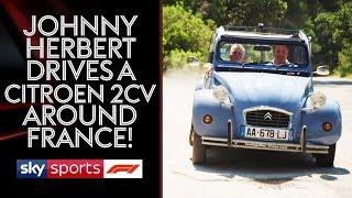 Johnny Herbert and Ted Kravitz drive a Citroen 2CV around France!