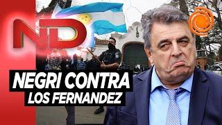 """Mario Negri: """"Cristina no está detrás de la idea, está al frente"""""""
