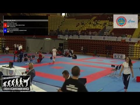 Tatami 6 and 7, WAKO European Championships 2017, Skopje