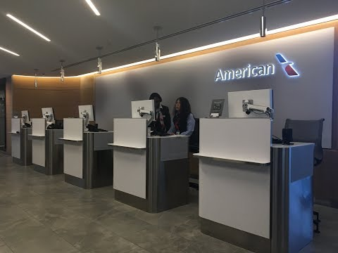 American Airlines Flagship First Class Lounge New York JFK