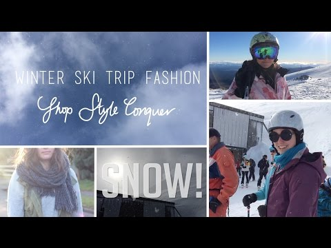 New Zealand Ski Trip Lookbook/Outfits: Shop Style Conquer at Mt Ruapehu