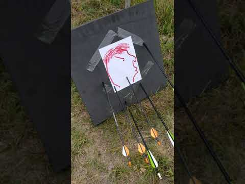 75 Pound Berserker Compound Bow, First 12 Shots.