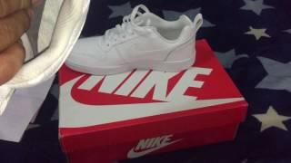 aterrizaje Jabeth Wilson palma  Como reconocer zapatillas originales Nike - Nike Court Borough Low - YouTube