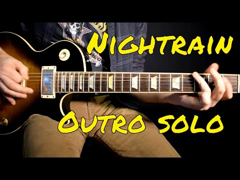 Guns n Roses – Nightrain outro solo cover