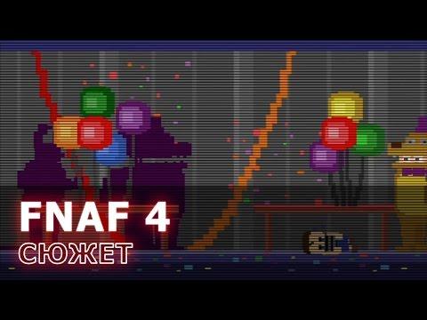 FNAF 4: сюжет, все мини-игры на русском
