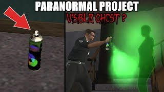 VISIBLE GHOST WITH SPRAY CAN? SECRET TRAPDOOR? GTA San Andreas Myths - PARANORMAL PROJECT 93